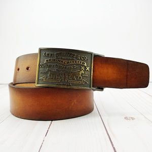 Levi's | Whiskey and Tobacco Leather Belt